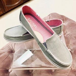 Sperry Grey Slides